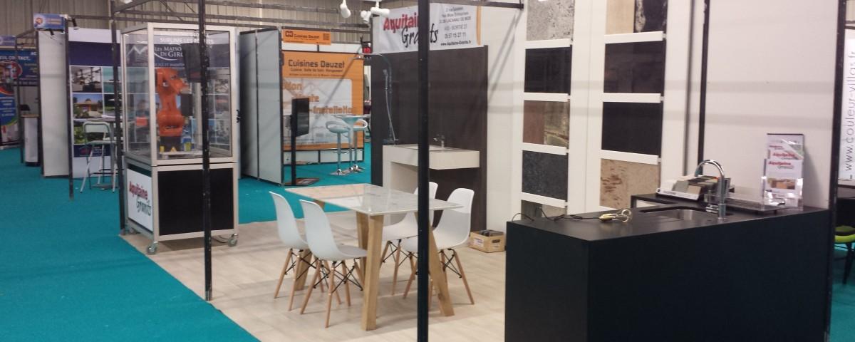 Salon Idées Maison 2016 Stand Aquitaine Granits