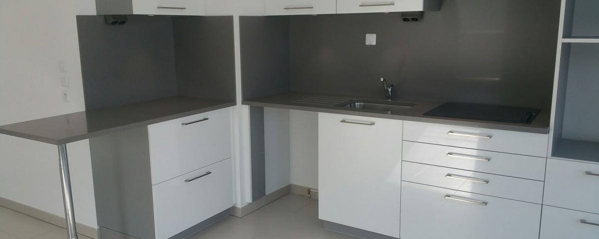 aquitaine granits quartz gris silestone lacanau de mios bordeaux arcachon bassin d'arcachon cuisine salle de bain plan de travail immeuble