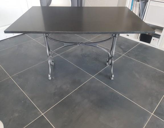 Table exterieur gironde, plateau de table granit