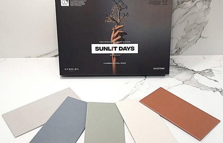 Collection silestone SUNLIT DAYS