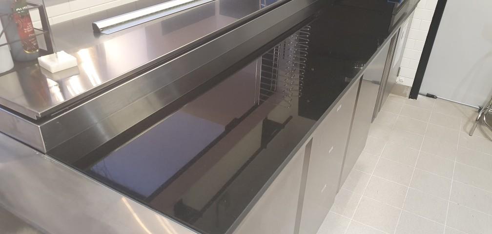 Plan pizzeria noir z polie 20mm
